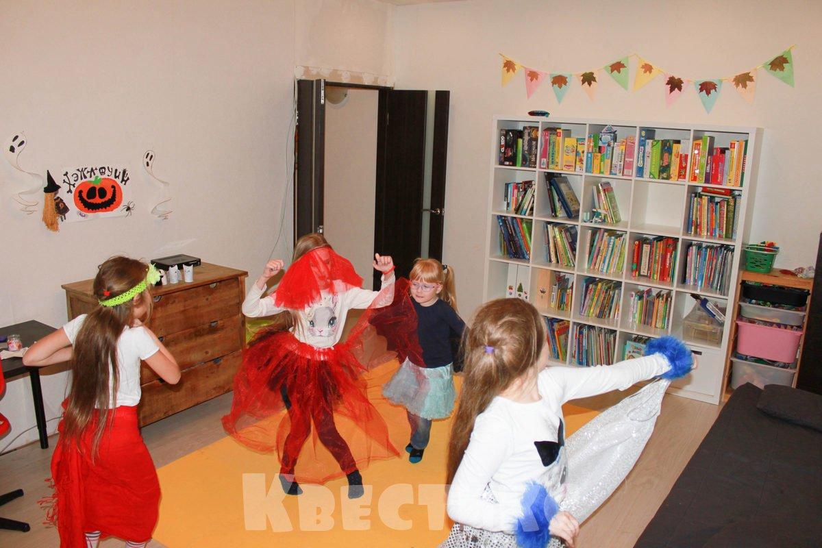 танцы на хэллоуин
