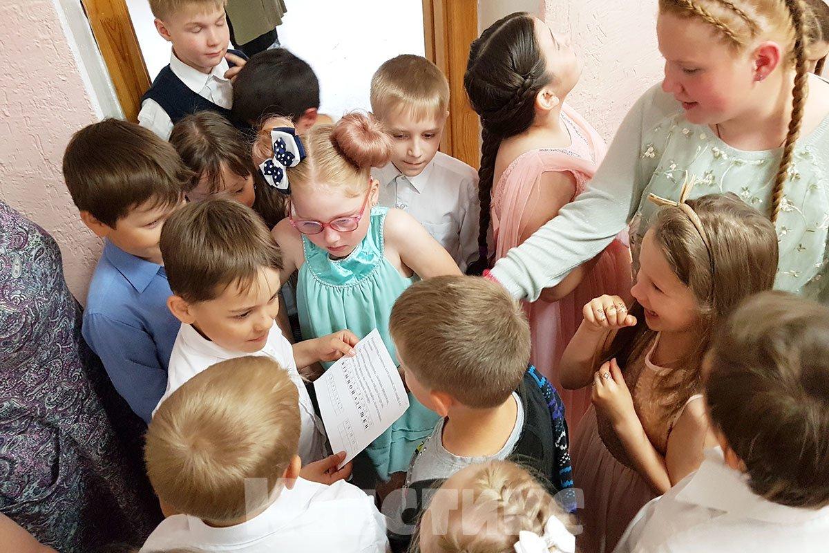 Новогодний квест в школе
