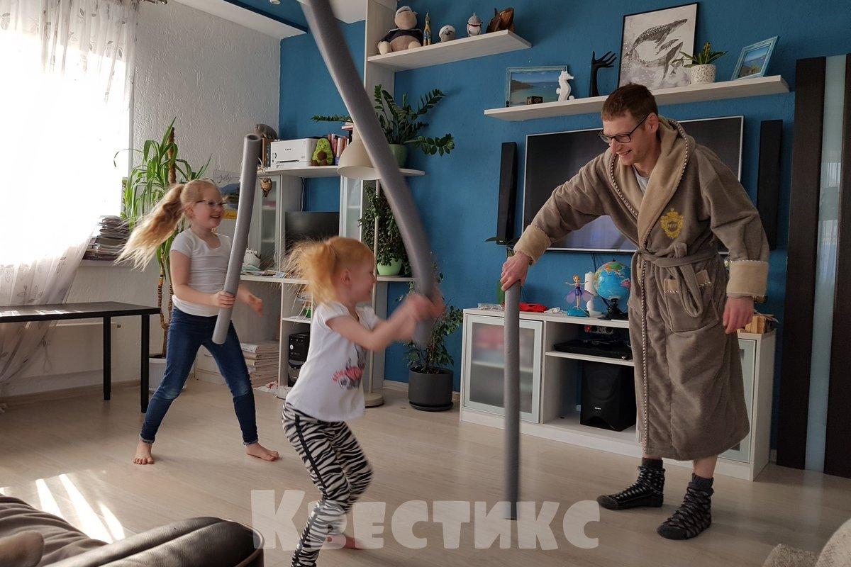 домашние активные игры с детьми