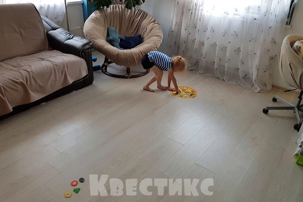 активная игра с ребенком дома