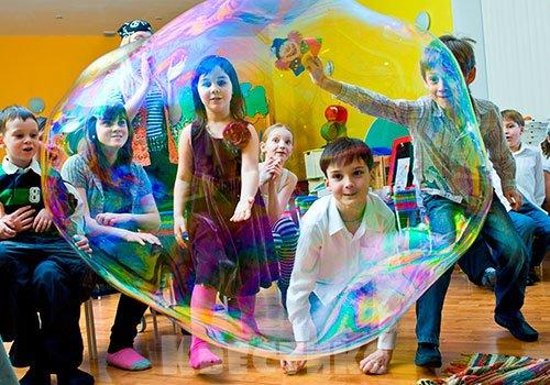 Шоу-программа в детской студии