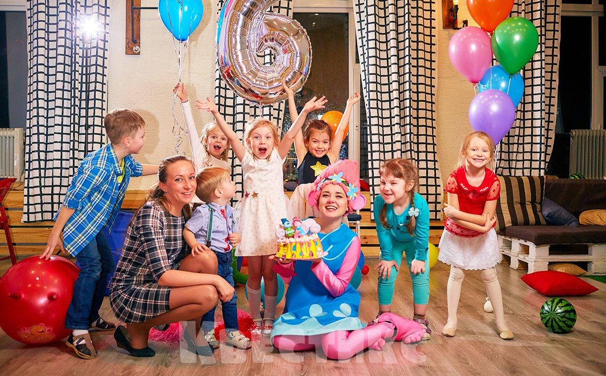 Праздник в детской студии