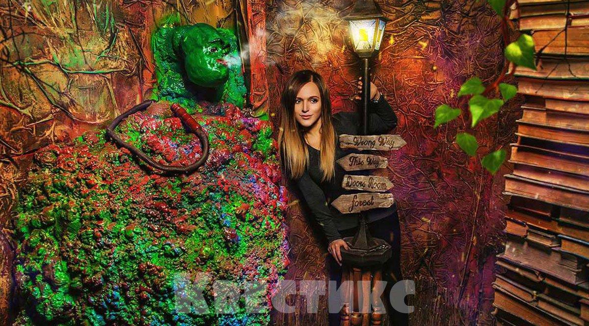 Акт-квест Алиса в Москве
