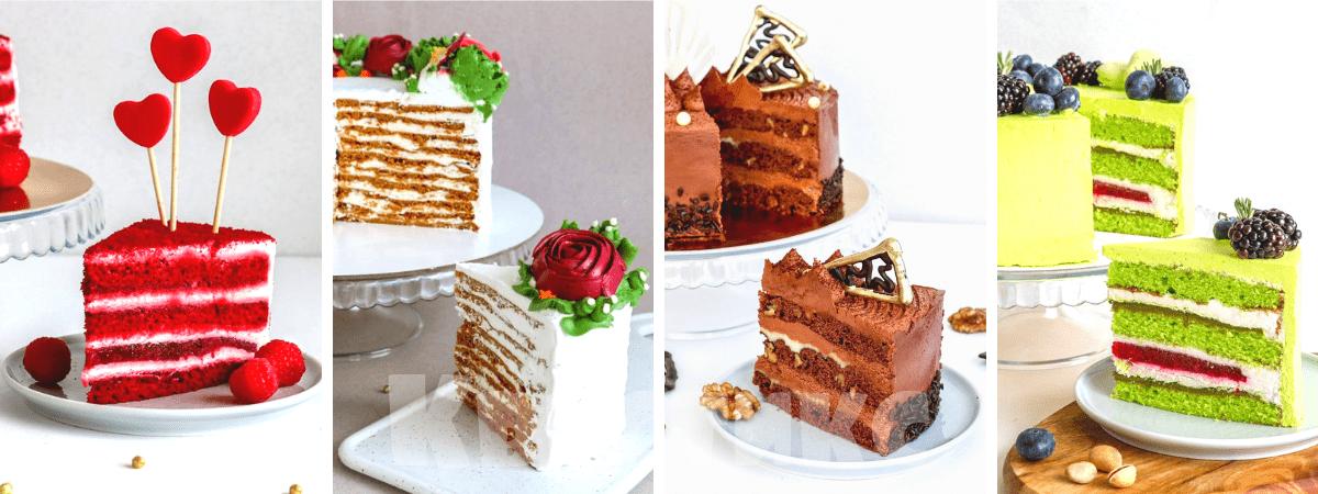 Необычный торт на заказ с начинкой на выбор