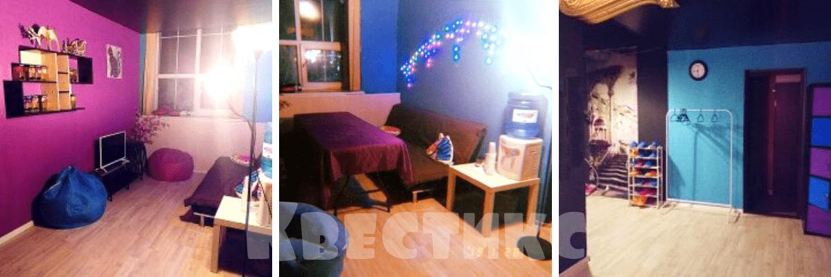 Чайная комната в детском квесте Гравити Фолз