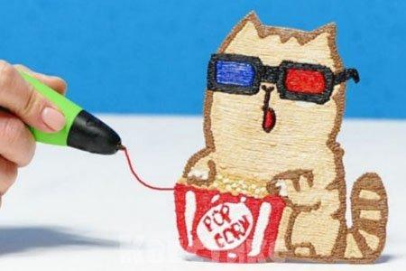 Мастер-класс 3D-ручка