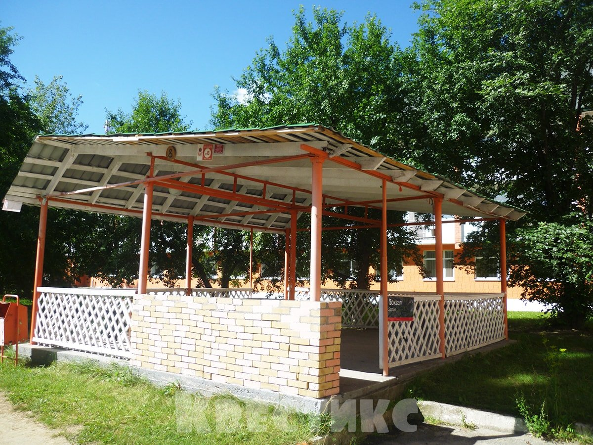 Летняя терраса для компании с мангалом
