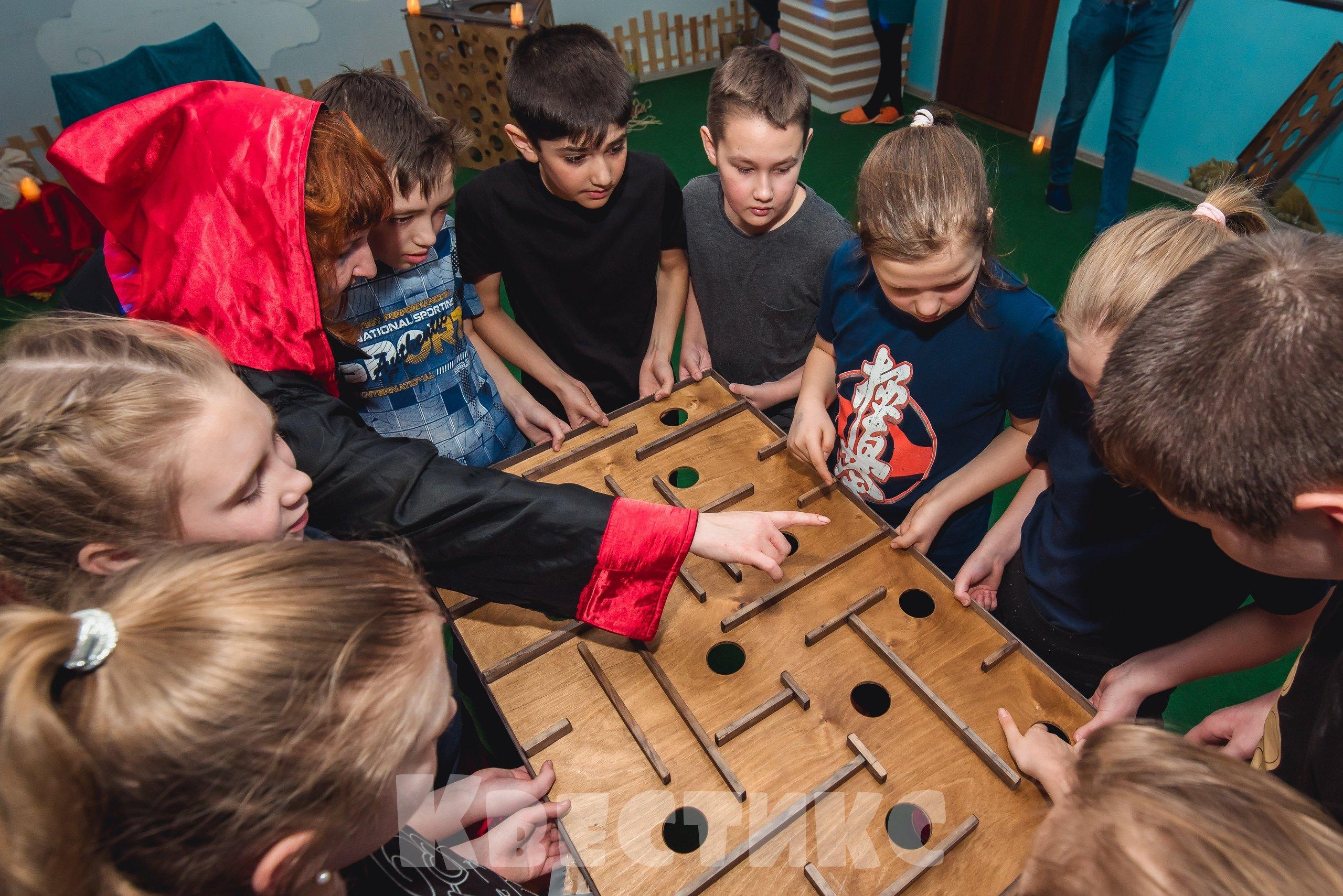 Детский квест в Екатеринбурге Пески времени