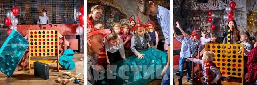 Выездной праздник под ключ для детей в стиле Гарри Поттер