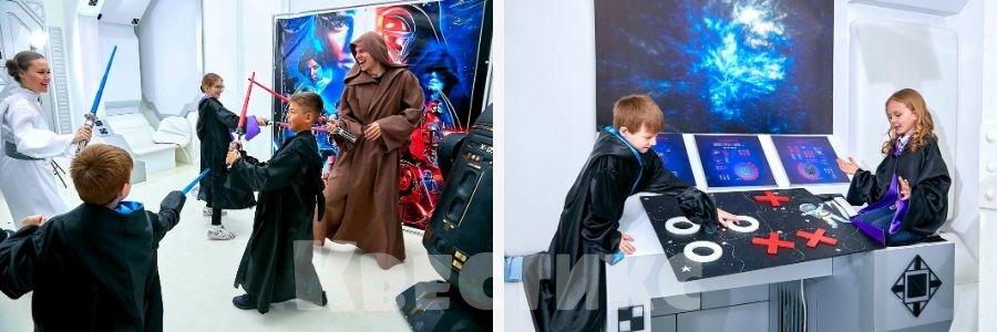 Выездной квест Звездные войны для детей