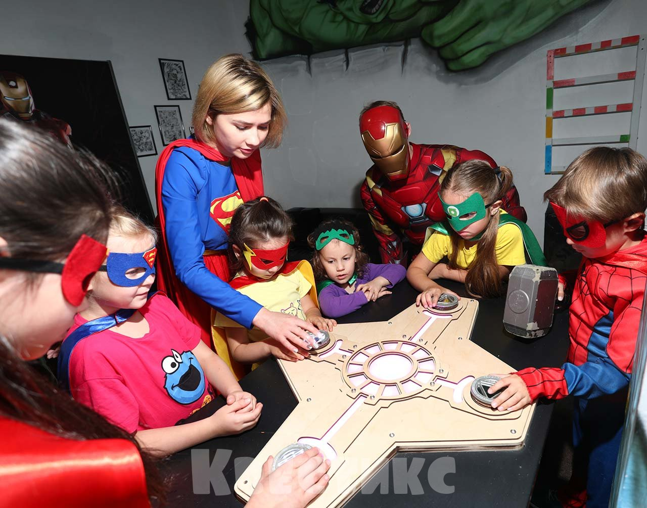 Аниматоры супергерои