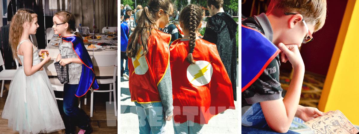 Квест в тематике супергерои на детский праздник