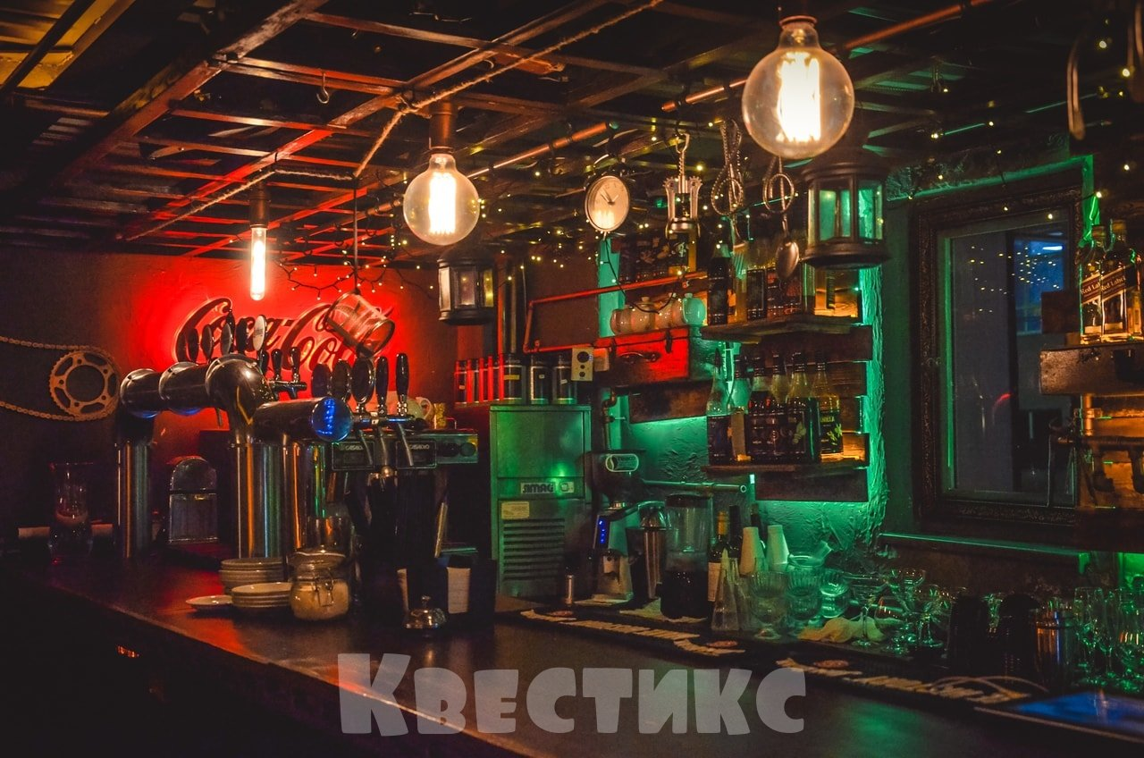 Кафе-бар в квесте