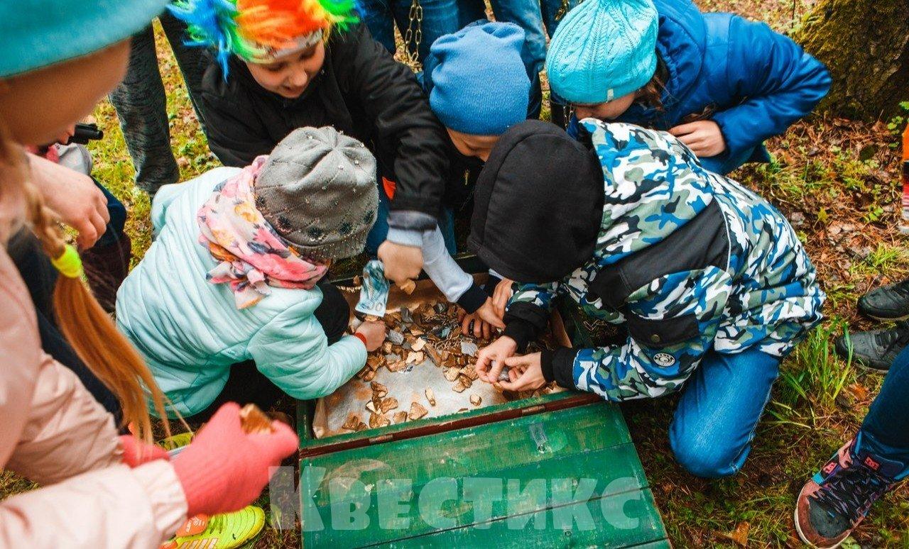 Детский квест в Новосибирске Золотая лихорадка