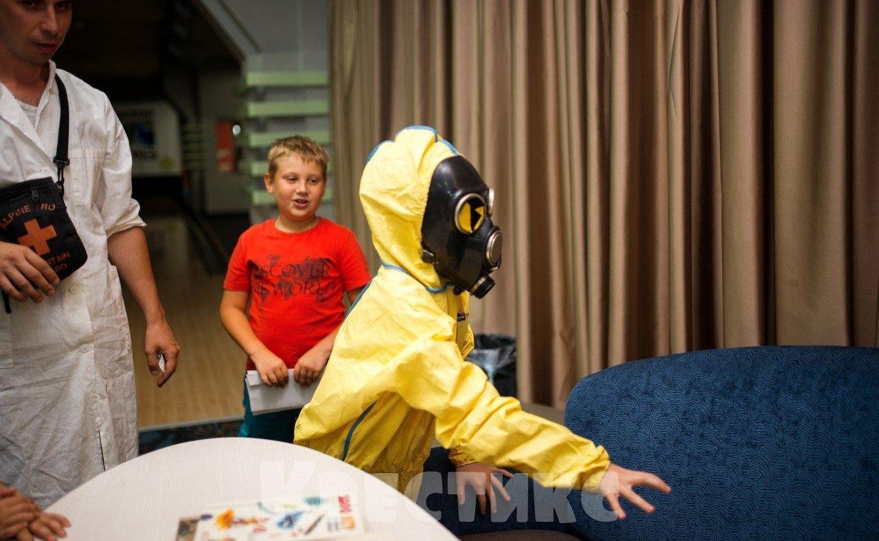 Детский квест в Новосибирске Опасное оружие