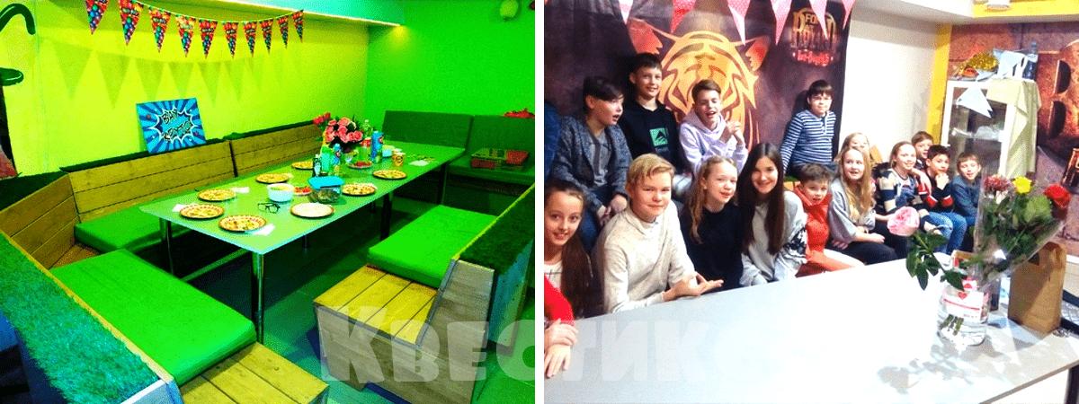 Чайная комната для празднования дня рождения ребёнка в городе Пермь