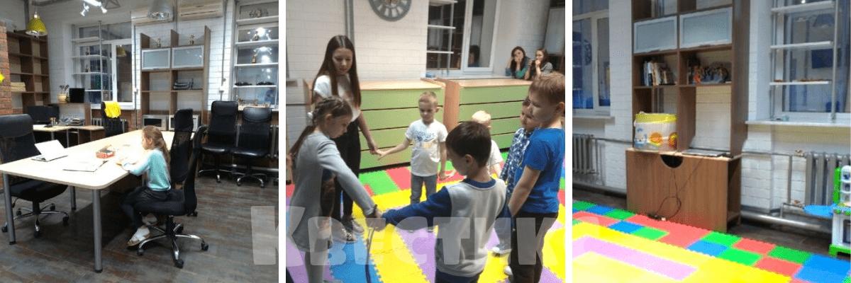 Квест Гравити Фолз в детской студии