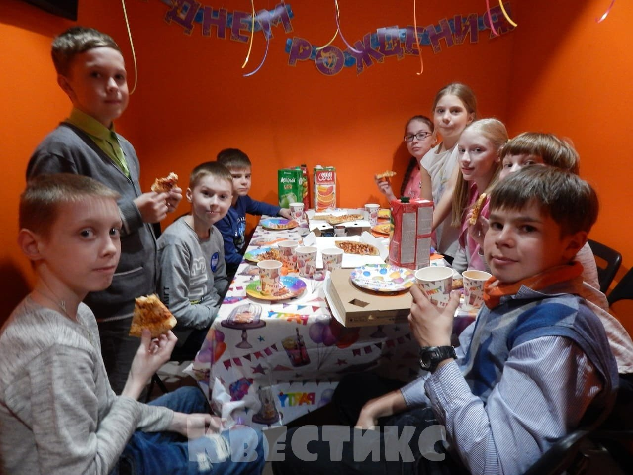 Чайная комната в детском квесте - Санкт-Петербург