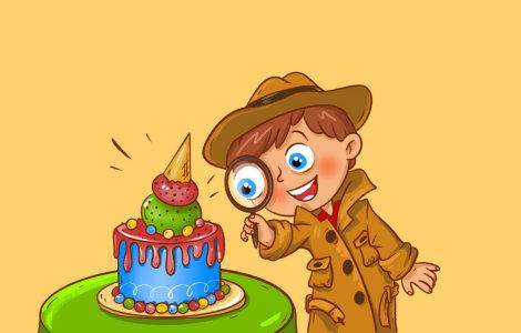 Дело о похищенном торте, 7-12 лет
