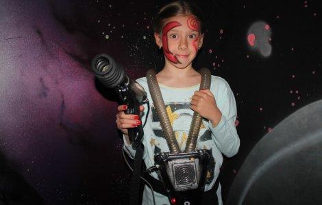 Детский лазертаг - день рождения под ключ (6+)