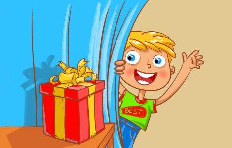 Поиск подарка, 6–10 лет