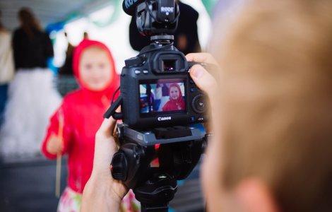 Видеооператор на день рождения или выпускной